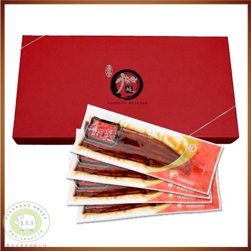 蒲燒鰻魚167g* 4尾/盒